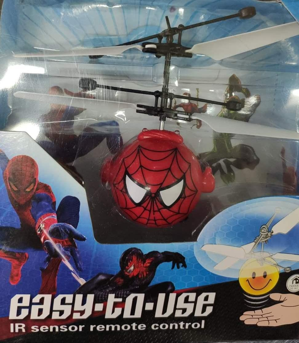 Летающий шар человек паук