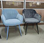 Кресло CARINTHIA (60*63*77,5 cm текстиль) темно-бирюзовый, Nicolas, фото 6
