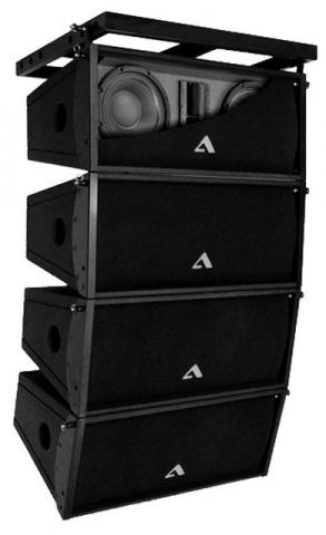 Лінійний масив TOP Alex Audio H2 + підсилювачі Yamaha б/в