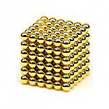 Неокуб (NeoCube) в боксе 216 шариков Золотой, фото 6