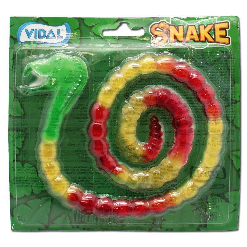 Желейная конфета Vidal Snake Спираль