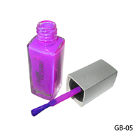 Клей-краска для временного тату фиолетовая GB-05