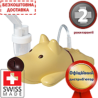 Небулайзер (ингалятор) компрессорный для детей Rossmax NF60 (Dog Kids)