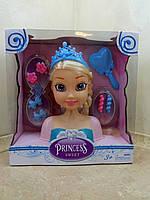 """Кукла-Манекен Эльза для создания причесок """"Princess sweet"""""""