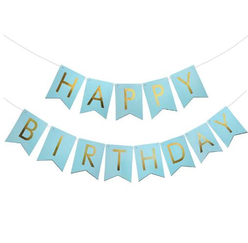 """Гирлянда из флажков """"Happy Birthday!"""""""