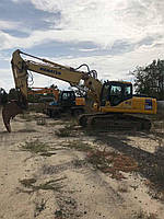 Услуги экскаватора КAMATSU PC 230 земляные работы Разработка котлована