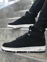 Мужские кроссовки Nike Air Force 1 (Утепленые) \ Найк Аир Форс \ Чоловічі кросівки Найк Аір Форс