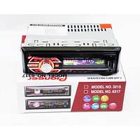 Автомагнитола с пультом Pioneer 1 Din MP3-6317 с RGB подсветкой