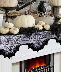 Скатерть-паутина на Хэллоуин (50x200 см.)