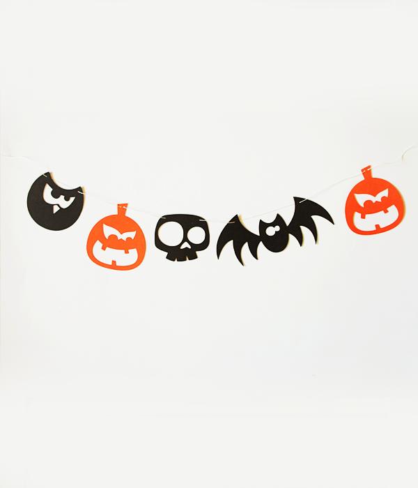 "Фигурная гирлянда ""Halloween"""