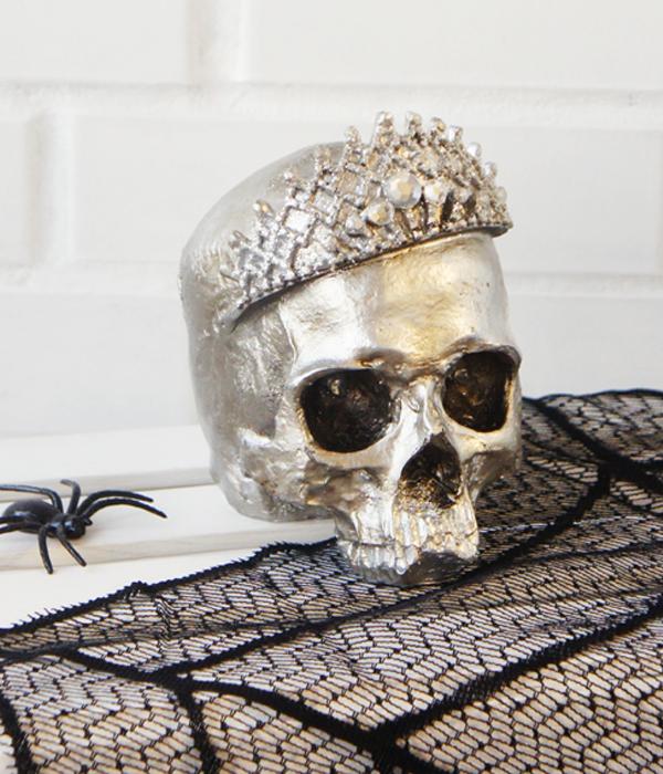 Череп с короной на Хэллоуин (аренда, г. Киев)