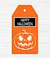 """Ярлычок для подарка """"Happy Halloween"""", фото 2"""