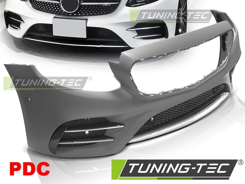Передний бампер обвес Mercedes E w213 стиль E43 AMG Line