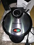 Вафельница для бельгийских вафель Rainberg RB-6302 с терморегулятором, фото 6