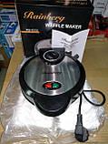 Вафельница для бельгийских вафель Rainberg RB-6302 с терморегулятором, фото 8