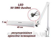 Рабочая лампа мод. 8017 LED с регулировкой яркости, крепление к столу