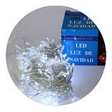 Новогодняя светодиодная гирлянда 400 W-1 белая 400Led, фото 2