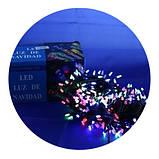 Новогодняя светодиодная гирлянда 400 M-3 мульти 400Led, фото 4