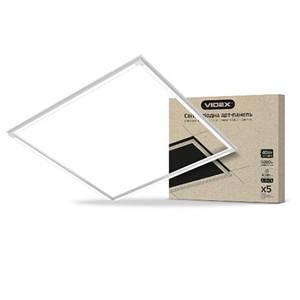 Светодиодная LED панель VIDEX ART 587х587 мм 40W 5000К 4000lm
