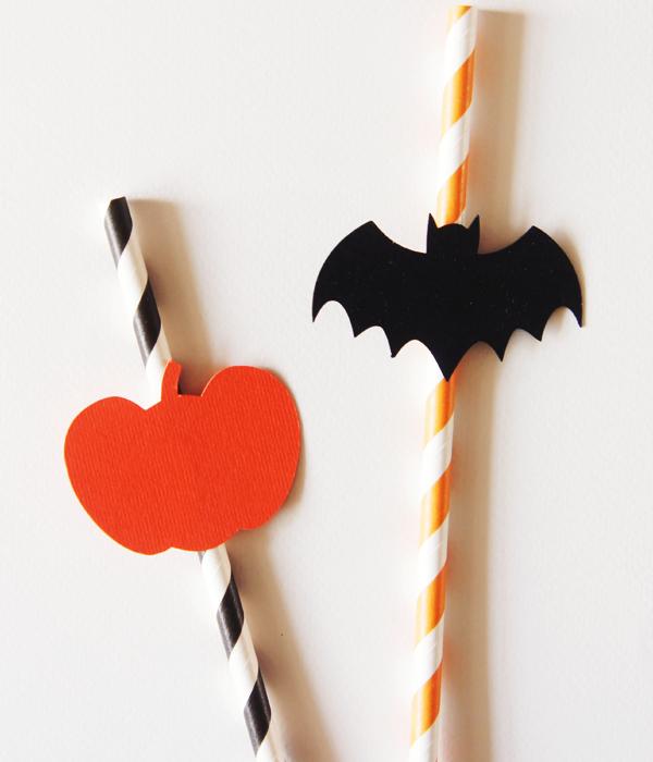 """Бумажные трубочки """"Halloween"""" (10 шт.)"""