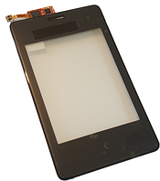 Сенсорный экран (тачскрин) для Nokia 502, RM-902, RM-921 Black