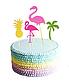 """Тропические топперы для торта """"Aloha"""" (5 шт.), фото 6"""