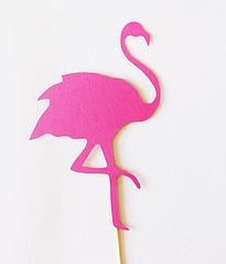 """Топпер для торта """"Фламинго"""""""