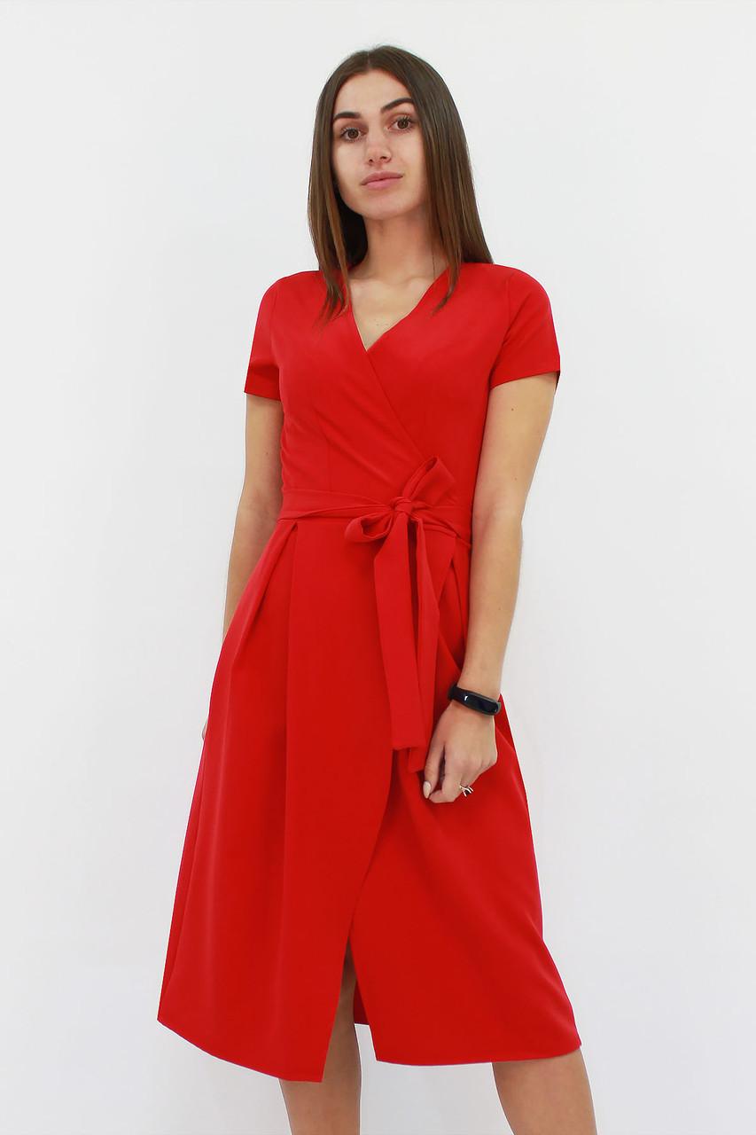 S, M, L / Вишукане плаття на запах Meredis, червоний