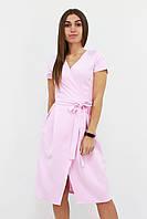 S, M, L / Вишукане плаття на запах Meredis, рожевий
