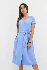 S, M, L / Вишукане плаття на запах Meredis, блакитний
