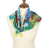10315-13, павлопосадский платок хлопковый (батистовый) с подрубкой, фото 3