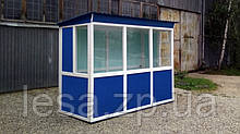 """Пост охорони """"Вагончик"""" 125 х 250 (см) з антивандальним покриттям"""