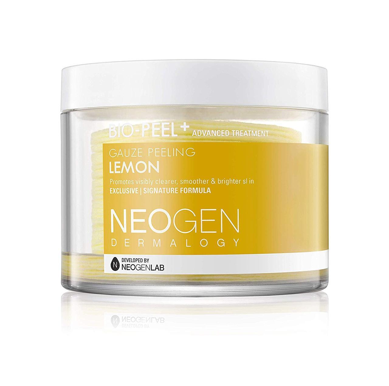 Пилинговые диски с лимоном Neogen Dermalogy Bio Peel Gauze Peeling Lemon, 30 шт