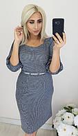 ЖІноче батальне тепле плаття, 3 кольори.Р-ри 48 -54, фото 1