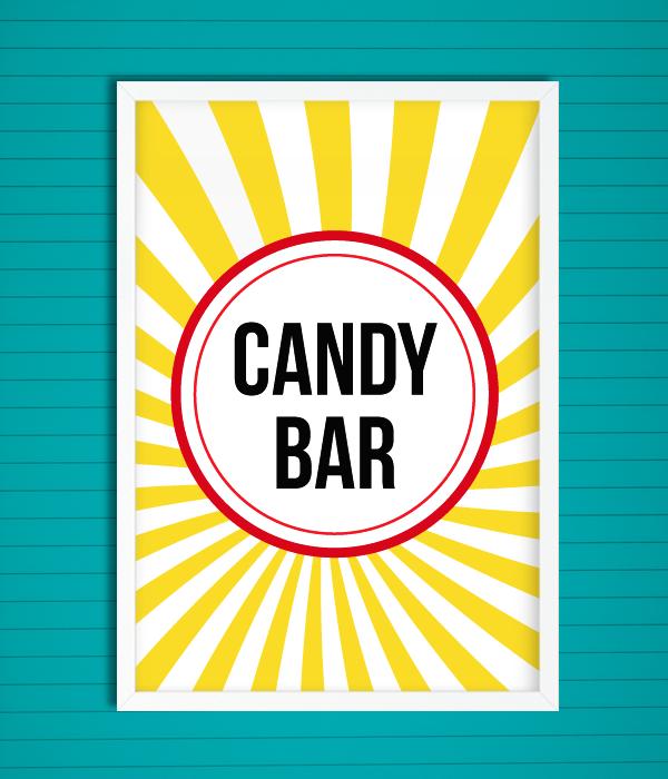 "Постер ""Candy bar"""