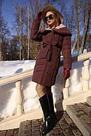 Пальто пуховик женский зимний Альмира  Nui Very