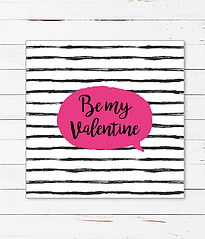 "Открытка ""Be my Valentine"""