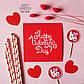 """Открытка на день влюбленных """"Happy Valentines day"""", фото 2"""