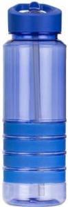 Пляшка для води з трубочкою Smile SBP-1 750 мл Блакитна