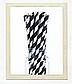 """Бумажные трубочки """"Black white stripes"""" (10 шт.), фото 2"""