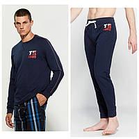 Мужской оригинальный темно-синий  спортивный костюм популярного бренда Tommy Hilfiger (размеры M,L)