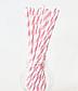 "Бумажные трубочки ""Baby pink white straws"", фото 2"