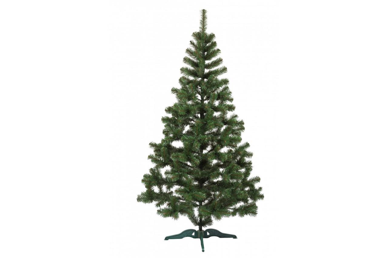 Искусственная елка (ель) 1,3 метра пушистый ствол на подставке
