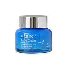 Увлажняющий крем для лица с керамидами The Skin House Marine Active Cream, 50 мл
