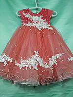 Нарядное бальное платье для девочки на 3-5 лет