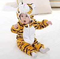 "Детская пижама кигуруми для мальчика ""Тигр"""