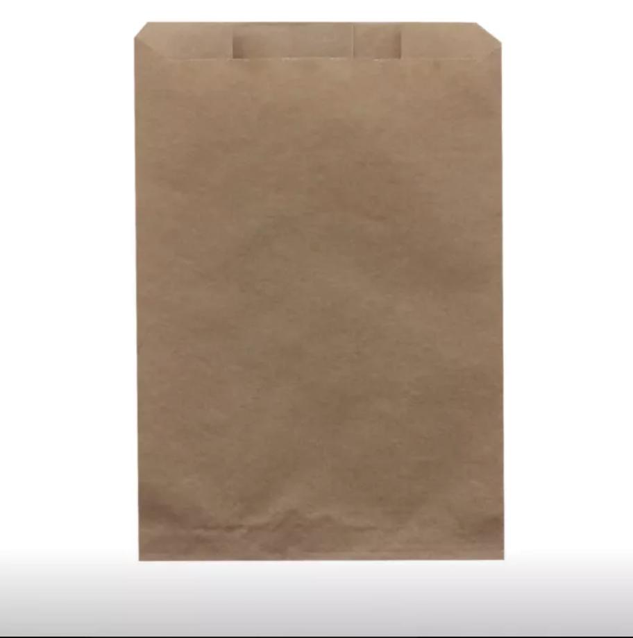 Бумажные пакеты, Крафт пакеты ( паперові / бумажные) без ручок 100 шт