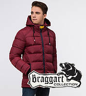 Подросток 13-17 лет   Куртка зимняя Braggart Teenager 75263 бордовая