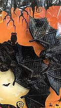 Мыши летучие для декора силиконовые на Хэллоуин
