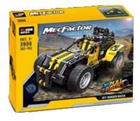 """Конструктор Decool 3806 """"Внедорожный гонщик"""" (аналог Lego Technic), 392 дет, фото 1"""